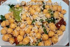 Garbanzo Beans Sundal