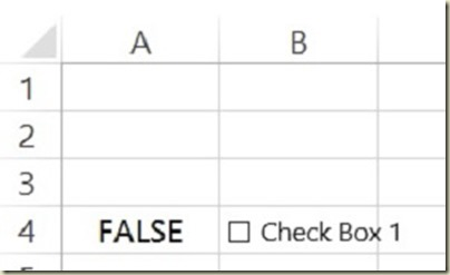 Form Controls in Excel - Form Controls Unchecked