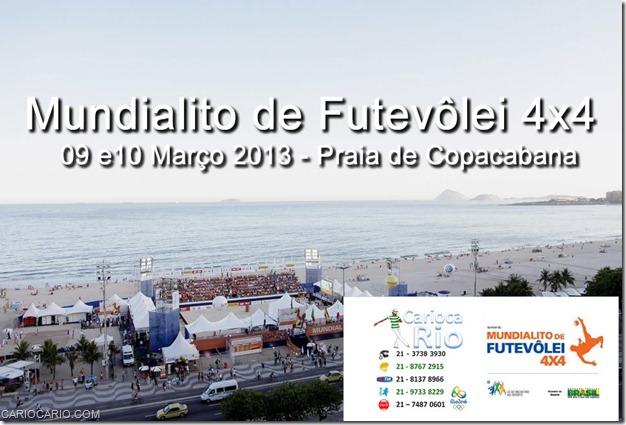 09 e10 Março 2013 - Praia de Copacabana