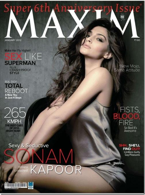 Sonam Kapoor Maxim