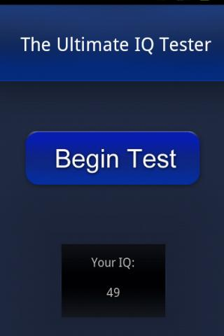 The Ultimate IQ Test