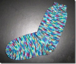 Abstract Fiber Sock 1 Complete