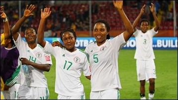 seleção feminina de futebol da Nigéria