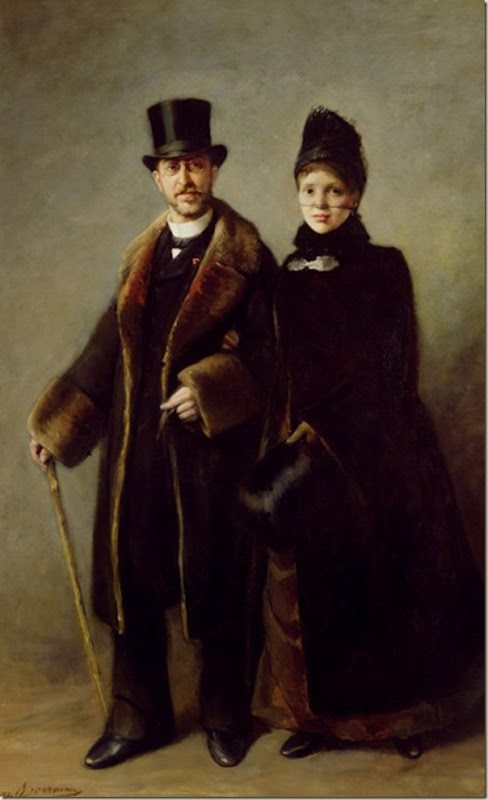 Eugene Broerman, Schliemann et sa femme