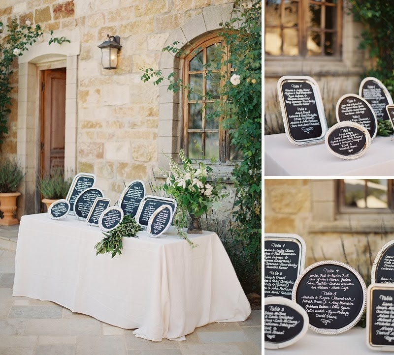 30 Oak and the Owl _ Chalkboard Escort Cards