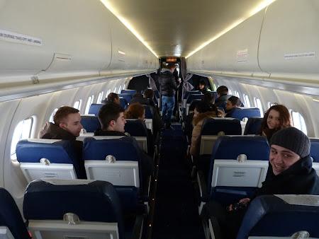 Interior Tarom ATR 42