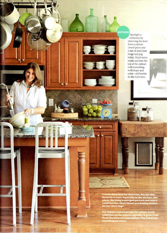 Quick Tip For Lightening Up A Dark Kitchen Emily Clark
