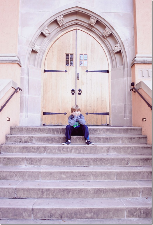 church-steps