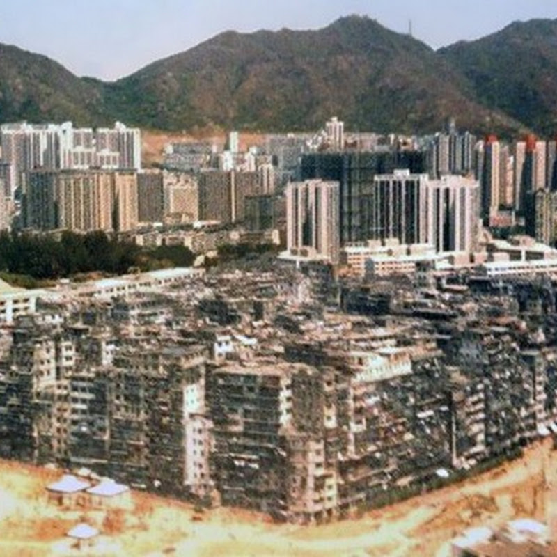 KOWLOON WALLED CITY: A POPULATION DENSITY NIGHTMARE