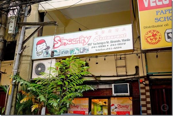 Binondo Sincerity