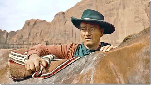 John Wayne em cena no clássico