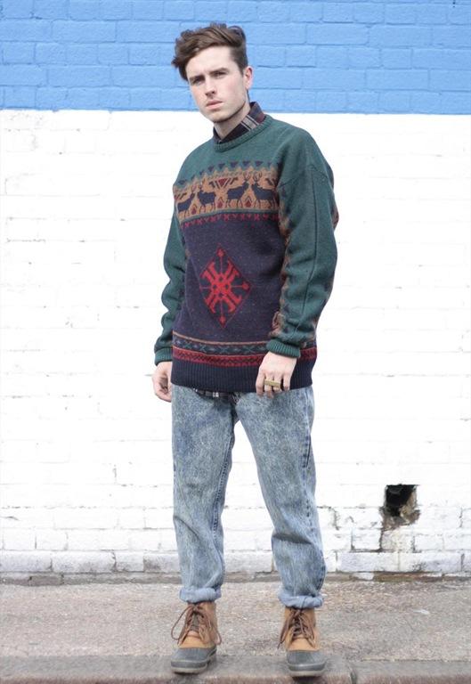 Vintage Pendleton Wool Reindeer Knit Jumper, £45, Sam Greenberg Vintage