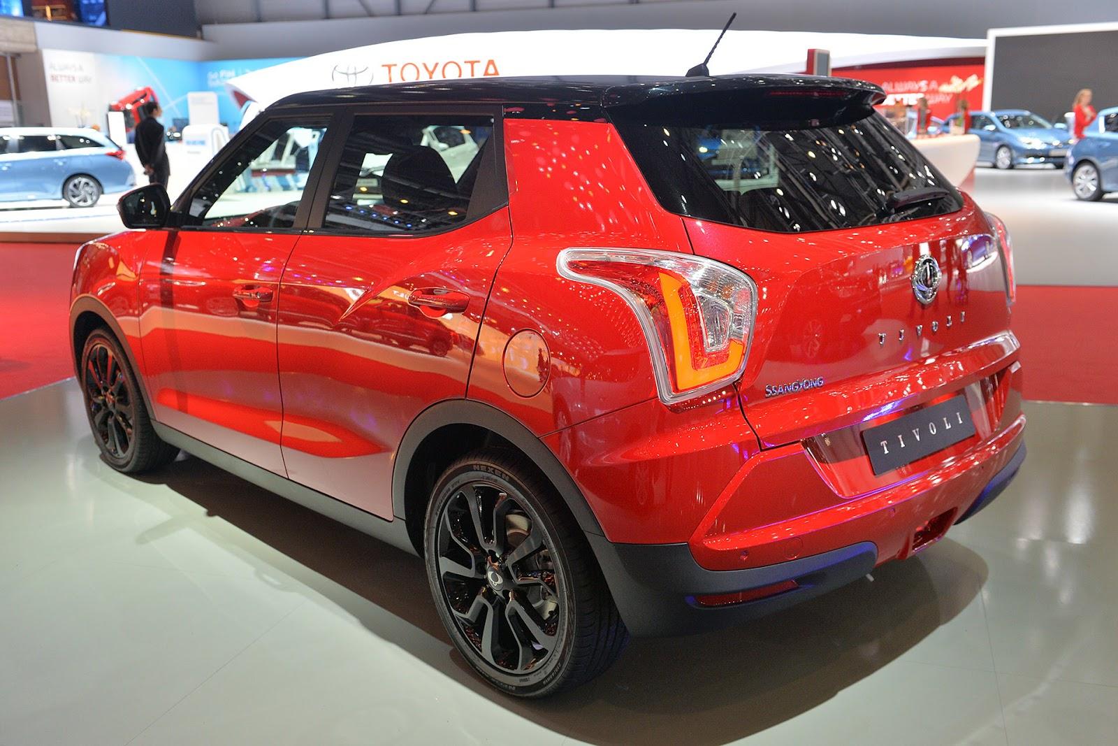 SsangYong'un yeni kompakt crossover modeli Tivoli Cenevre ...