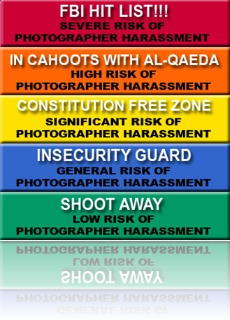 The Photographer&#39;s Harassment Advisory System