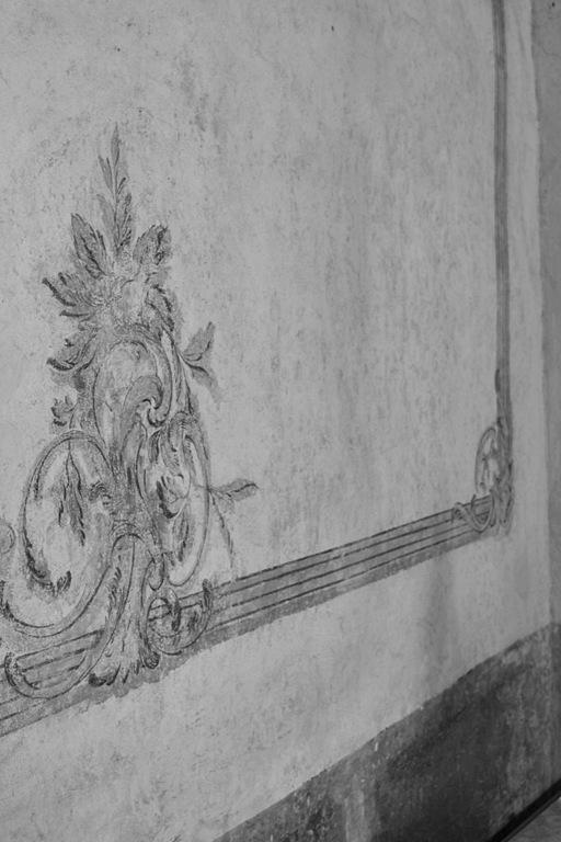 målat väggfält Kalmar slott