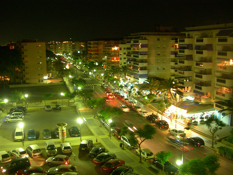 Hotel Terramarina (ex. Carabela Roc). La Pineda. Costa Dorada. Spain. Не смотря на близкое соседство парка в этом краю городка - тишина и покой по вечерам.