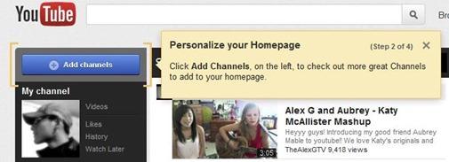 YouTube-personalizacion