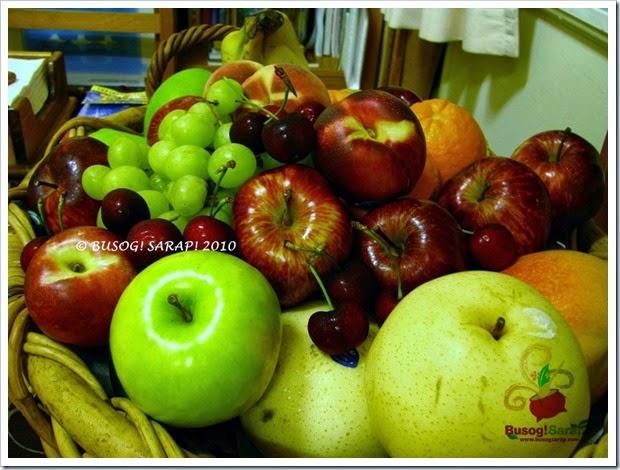NEW YEAR 2010 FRUITS © BUSOG! SARAP! 2010