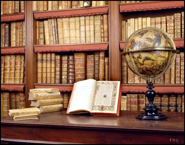 Biblioteca Angelica, Rome, Italie-1