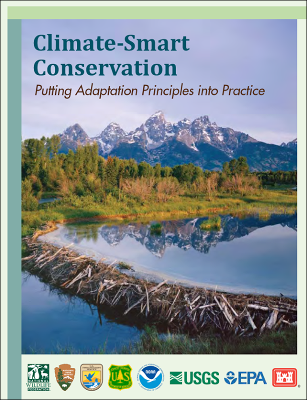 Cover of the National Wildlife Federation report, 'Climate-Smart Conservation', 2014. Photo: National Wildlife Federation