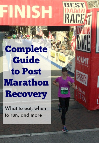 Your complete guide to post race recovery