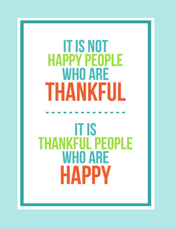Thankful Happy People