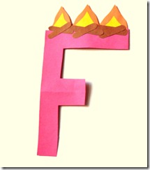 F is for Fire