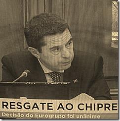 Resgate ao Chipre foi unânime no Europrupo. Mai.2013