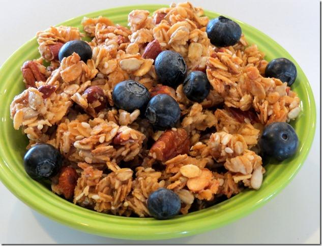 Crazy Nutty Gluten Free Granola 8-28-13