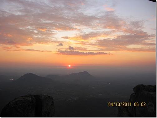 VidyaSury sunset