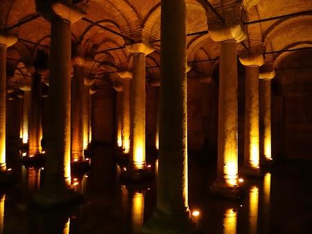Obiective turistice Istanbul: Basilica Cistern