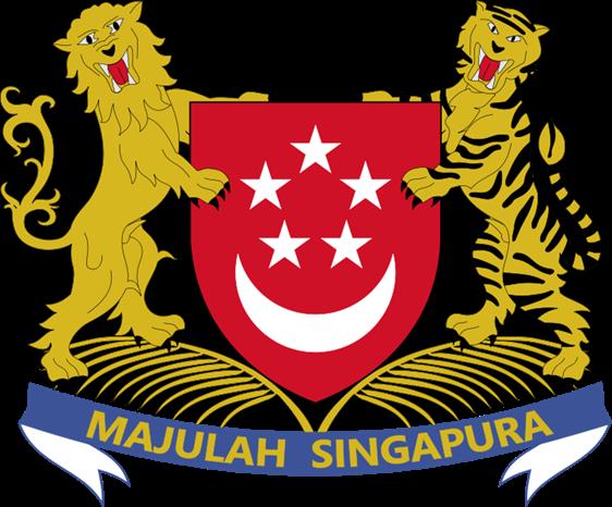 lambang negara Singapura