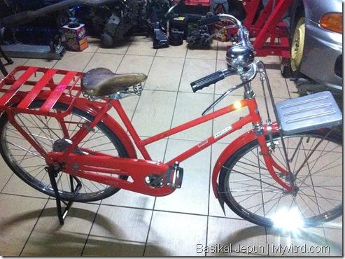 Basikal Tua Dari Jepun 3