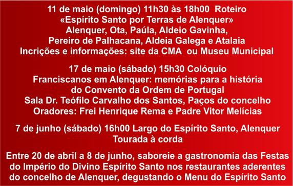Festas Imp. Esp. Santo - Concelho Alenquer - 2014 (2)