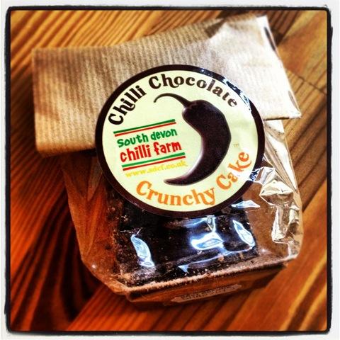 #291 - South Devon Chilli Farm chocolate crunchy cake