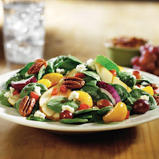 Grilled Oregon Pear and Spinach Salad