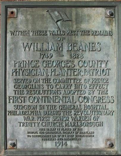 beanes plaque