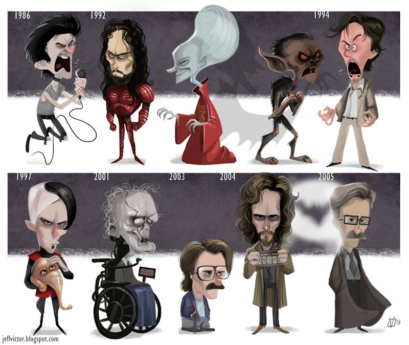 The Evolution of Gary Oldman