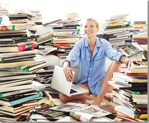 gwyneth paltrow books via fallon elizabeth tumblr
