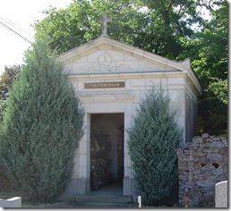L'ossuaire construit en 1922
