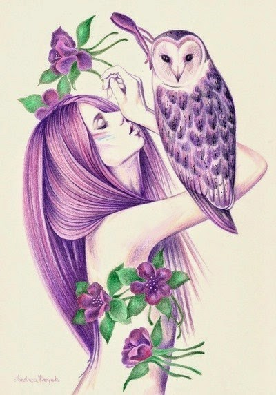 Nightowl by Andrea Hrnjak via allonsykimberly.com