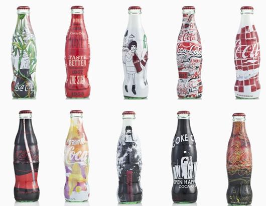 coca cola garrafas especiais
