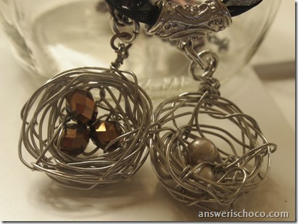 Birds Nest Pendants