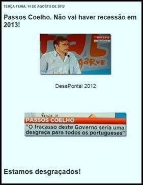 Passos Coelho no Pontal - outra vez.Ago.2013