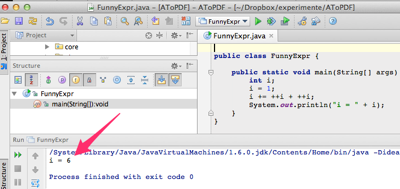 java funny expression