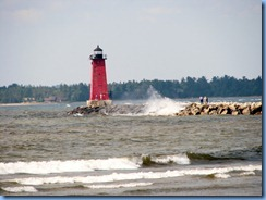 4841 Michigan - Manistique, MI - US-2 - Manistique East Breakwater Lighthouse