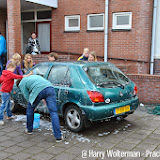 Fancy fair, rommelmarkt en autowassen bij Chr. Geref. Kerk - Foto's Harry Wolterman