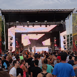 rockstar stage at identity festival in Toronto, Ontario, Canada