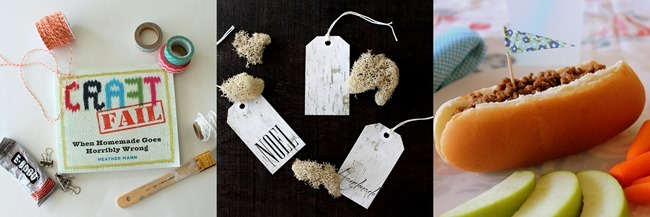 This week on homework: Craft Fail, Birch Tags & Sloppy Dogs