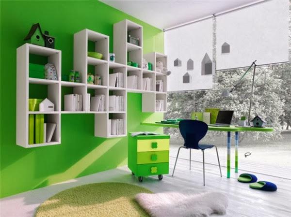 decoracion-habitacion-de-niño-color-verde-1